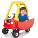 รถขาไถยอดฮิต Little Tikes Mr. Cozy Coupe with Moustache สี แดง เหลือง ออกใหม่ มีหนวด