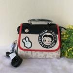 กระเป๋าสะเพายแบบฝาพับ แบรนด์ Betty Boop ของแท้💯%