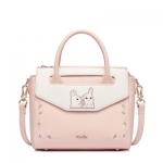 กระเป๋าสะพายกระต่ายน้อย สีชมพูหวาน แบรนด์ JustStar แท้ 100%