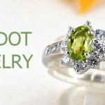 แหวนพลอยผู้หญิงเพอริดอทแท้