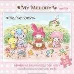 My Melody มาย เมโลดี้ จิ๊กซอว์ซานริโอ Sanrio 500 ชิ้น ขนาด 53*38 ซม. สำหรับเด็กน้อย 3ขวบ ขึ้นไป ฝึกหัดต่อจิ๊กซอว์