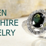 แหวนพลอยผู้หญิงเขียวส่องแท้