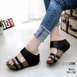 รองเท้าเตารีด 2 ตอน 961-58-ดำ BLACK