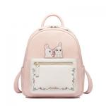 กระเป๋าเป้กระต่ายน้อย สีชมพูหวาน แบรนด์ JustStar แท้ 100%