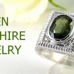 แหวนพลอยผู้ชายเขียวส่องแท้