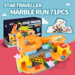 Star Traveller Marble Run 71 ชิ้น