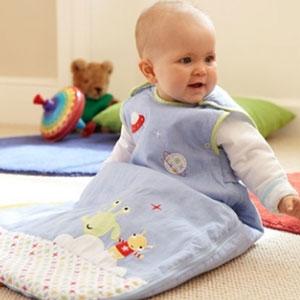 ถุงนอนเด็ก Grobag Baby Sleeping Bag 1.0 Tog, ลาย Little Aliens แบรนด์ดังจากอังกฤษ ขนาด 6-18 เดือน