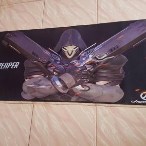 แผ่นรองเมาส์ Overwatch ลาย Raper 90x40 2mm.