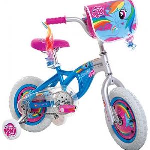 จักรยานโพนี่ 4 ล้อ Girl My Little Pony Bike ล้อกว้าง 12 นิ้ว