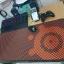 แผ่นรองเมาส์ SteelSeries สีส้ม 90x40 5mm.