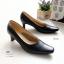 รองเท้าคัชชูดำ งานขายดี (+1 ไซส์)