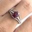 แหวนพลอยผู้หญิงเงินแท้ 92.5 เปอร์เซ็น ฝังด้วยพลอยทับทิมแท้ thumbnail 9
