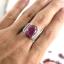 แหวนพลอยผู้ชายเงินแท้ 92.5 เปอร์เซ็น ฝังด้วยพลอยทับทิมแท้ thumbnail 9