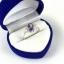 แหวนพลอยผู้หญิงเงินแท้ 92.5 เปอร์เซ็น ฝังด้วยพลอยแอมิทิสต์แท้ thumbnail 9