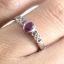 แหวนพลอยผู้หญิงเงินแท้ 92.5 เปอร์เซ็น ฝังด้วยพลอยทับทิมแท้ thumbnail 5