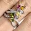 แหวนพลอยผู้หญิงเงินแท้ 92.5 เปอร์เซ็น ฝังด้วยพลอยแท้คละสี thumbnail 7