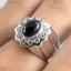 แหวนพลอยผู้ชายเงินแท้ 92.5 เปอร์เซ็น ฝังด้วยพลอยนิลแท้ thumbnail 5