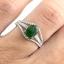 แหวนพลอยผู้หญิงเงินแท้ 92.5 เปอร์เซ็น ฝังด้วยพลอยมรกตแท้ thumbnail 7
