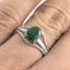 แหวนพลอยผู้หญิงเงินแท้ 92.5 เปอร์เซ็น ฝังด้วยพลอยมรกตแท้ thumbnail 8