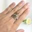 แหวนพลอยผู้หญิงเงินแท้ 92.5 เปอร์เซ็น ฝังด้วยพลอยแท้คละสี thumbnail 10
