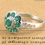 แหวนพลอยผู้หญิงเงินแท้ 92.5 เปอร์เซ็น ฝังด้วยพลอยกรีนอะเกทแท้ thumbnail 4
