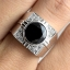 แหวนพลอยผู้ชายเงินแท้ 92.5 เปอร์เซ็น ฝังด้วยพลอยนิลแท้ thumbnail 8