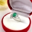 แหวนพลอยผู้หญิงเงินแท้ 92.5 เปอร์เซ็น ฝังด้วยพลอยกรีนอะเกทแท้ thumbnail 5