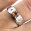 แหวนพลอยผู้หญิงเงินแท้ 92.5 เปอร์เซ็น ฝังด้วยพลอยบุษราคัมแท้ thumbnail 6
