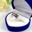 แหวนพลอยผู้หญิงเงินแท้ 92.5 เปอร์เซ็น ฝังด้วยพลอยโกเมนแท้ thumbnail 7