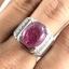 แหวนพลอยผู้ชายเงินแท้ 92.5 เปอร์เซ็น ฝังด้วยพลอยทับทิมแท้ thumbnail 8