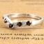 แหวนพลอยผู้หญิงเงินแท้ 92.5 เปอร์เซ็น ฝังด้วยพลอยโกเมนแท้ thumbnail 4