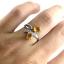 แหวนพลอยผู้หญิงเงินแท้ 92.5 เปอร์เซ็น ฝังด้วยพลอยซิทรินแท้ thumbnail 10