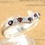 แหวนพลอยผู้หญิงเงินแท้ 92.5 เปอร์เซ็น ฝังด้วยพลอยโกเมนแท้ thumbnail 3