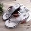 รองเท้าหูคีบ สไตล์ญี่ปุ่น ผ้า pu สักหราด