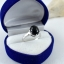 แหวนพลอยผู้หญิงเงินแท้ 92.5 เปอร์เซ็น ฝังด้วยพลอยนิลแท้ thumbnail 9