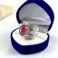 แหวนพลอยผู้หญิงเงินแท้ 92.5 เปอร์เซ็น ฝังด้วยพลอยทับทิมแท้ thumbnail 8