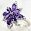 แหวนพลอยผู้หญิงเงินแท้ 92.5 เปอร์เซ็น ฝังด้วยพลอยแอมิทิสต์แท้ thumbnail 1