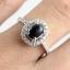 แหวนพลอยผู้หญิงเงินแท้ 92.5 เปอร์เซ็น ฝังด้วยพลอยนิลแท้ thumbnail 4