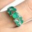 แหวนพลอยผู้หญิงเงินแท้ 92.5 เปอร์เซ็น ฝังด้วยพลอยกรีนอะเกทแท้ thumbnail 6
