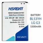 Battery LG G3 5300mAh BL-53YH BL 53YH Phone Battery Use For LG G3 D858 D855 D857 D859 D850 F400 F460 F470 D830 D851 VS985