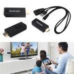 MiraDisplay Classic Miracast DLNA Airplay Mirror Wireless Display Mirroring WIFI Smart OTA TV Stick Dongle for Windows IOS Android อุปกรณ์แสดงผลจากจอมือถือ สู่หน้าจอขนาดใหญ่