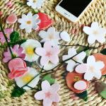 โพสอิทดอกไม้