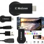 MiraScreen Miracast DLNA Airplay Mirror Wireless Display Mirroring WIFI Smart OTA TV Stick Dongle for Windows IOS Android อุปกรณ์แสดงผลจากจอมือถือ สู่หน้าจอขนาดใหญ่