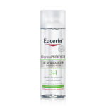 Eucerin DermoPURIFYER ACNE & MAKE-UP CLEANSING WATER 200 ml.