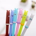 ปากกาหัวการ์ตูน 6 สี