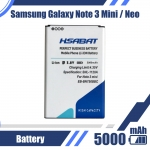 5000mAh EB-BN750BBC for Samsung Galaxy Note III Neo or Note 3 neo Battery N7505 or N750 or Galaxy note 3 mini Battery