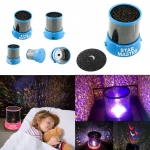 Romantic Blue Amazing Master Star Sky Universal Night Light Kid Chidren Dreamlike Projector ไฟดาวบนฝ้าเพดาน