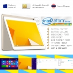 Computer Tablet 3G Sim Card Windows 8.1 Intel3735F IPS 8.95inch