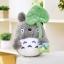 ตุ๊กตาโตโตโร่ ถือใบไม้ ไว้กอด นำเข้า ถู๊กถูก Cute Totoro with Lotus Leaf