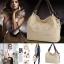 กระเป๋าสะพาย Retro Vintage Women's Leather Handbag Tote Trendy Shoulder Bags